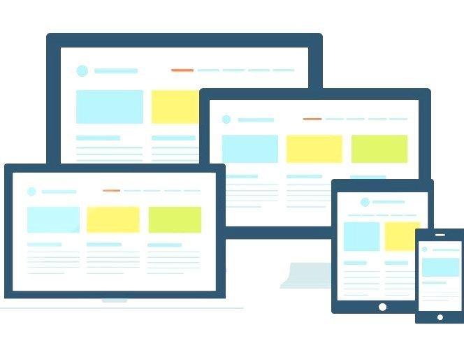 Виды адаптивных сайтов