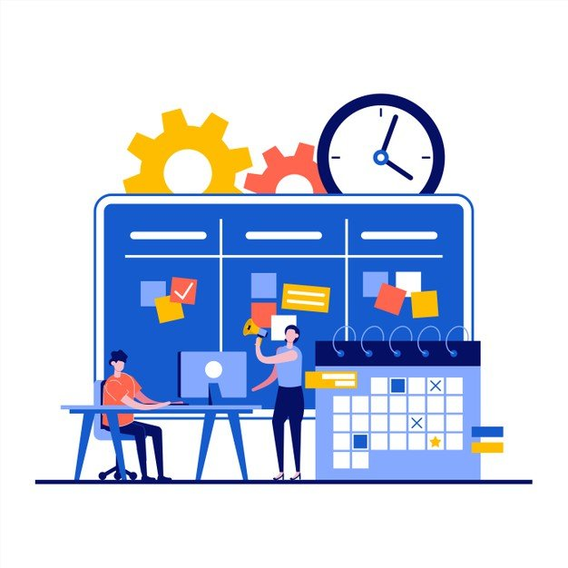 workflow management concept with businessman character 269730 337 - Маркетинг, который ставит цели